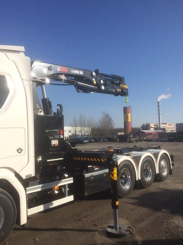 Scania kranväxlare