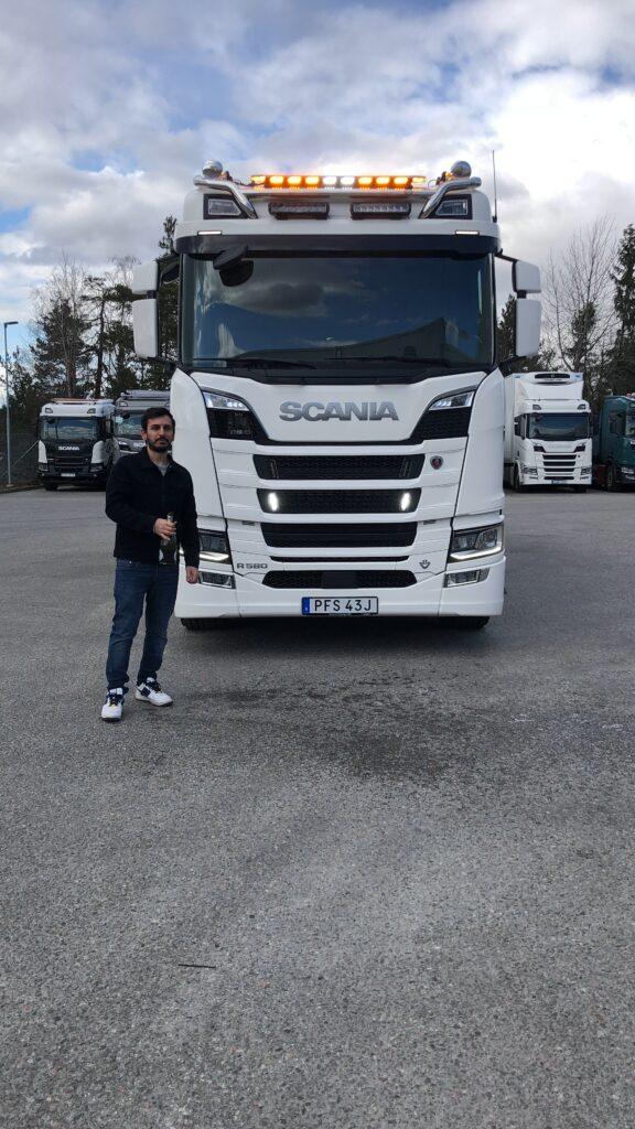 Scania leverans