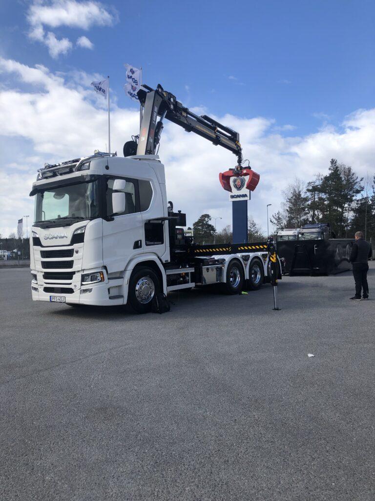 Scania r580 v8 kranväxlare